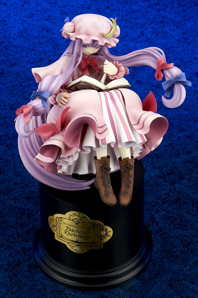 The Unmoving Great Library Patchouli Knowledge 1 8 Scale PVC Figure quesQ Touhou Project